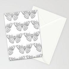 Butterfly dots Stationery Cards