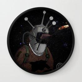 astro crow Wall Clock
