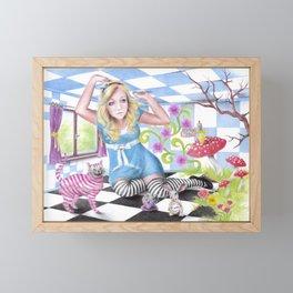 Alice | ENDOvisible Framed Mini Art Print