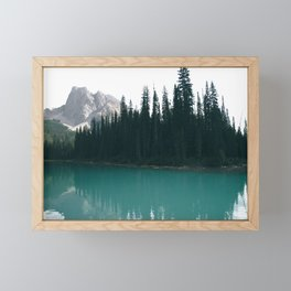 Emerald Lake Framed Mini Art Print