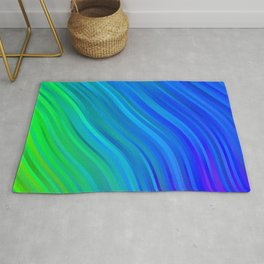 stripes wave pattern 1 stdv Rug