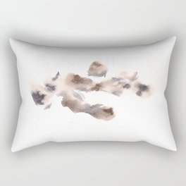 The Empress Mother - 151124  Abstract Watercolour Rectangular Pillow