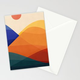 Meditative Mountains Stationery Cards