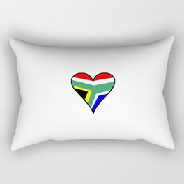 flag south africa 4,African,Afrikaans,Mandela,apartheid, Johannesburg,Soweto,Pretoria,Durban,Tembisa Rectangular Pillow