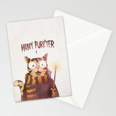 HAIRY PURR'TER Stationery Cards