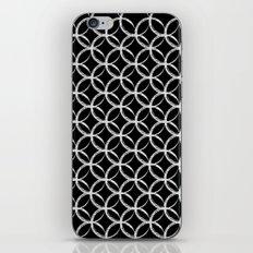 Brushed Circles Inverse iPhone & iPod Skin