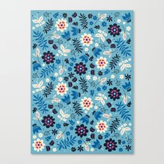 Fresh Blossoms Canvas Print