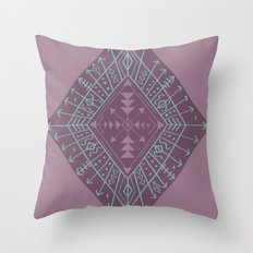 Gypsy Compass Throw Pillow