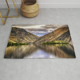 Snake River in Hells Canyon Rug
