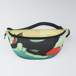 Classic Cat & Mighty Mouse Tale Fanny Pack
