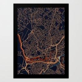 Bristol Art Print