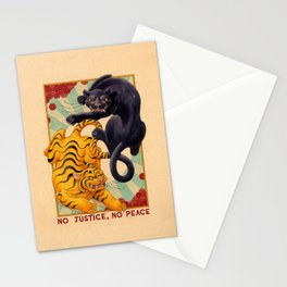 No Justice, No Peace Stationery Cards