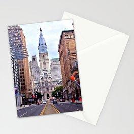 Broad Street, Philadelphia Stationery Cards