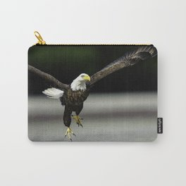 Bald Eagle taking flight Carry-All Pouch