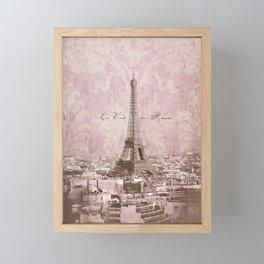 romantic Paris Framed Mini Art Print