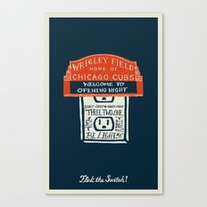 Flick the Switch Canvas Print