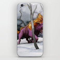 BEAST AND BEAUTIFUL iPhone & iPod Skin