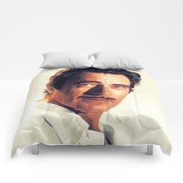 R. Gilbert, Vintage Actor Comforters