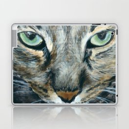 Brown Tabby Cat Laptop & iPad Skin