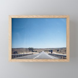Road-trip Framed Mini Art Print