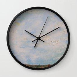 Sky Scape Wall Clock