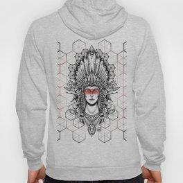Geometric Indian Hoody