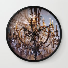 Chandelier, RI Mansion  Wall Clock
