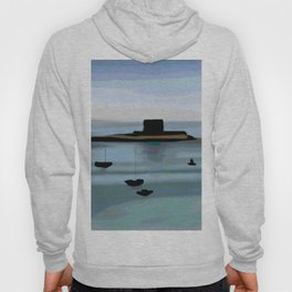 Fort View in Jersey Hoody
