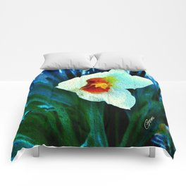 First Jonquil of Spring Comforters