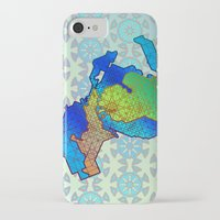 michigan iPhone & iPod Cases featuring Michigan by Dusty Goods