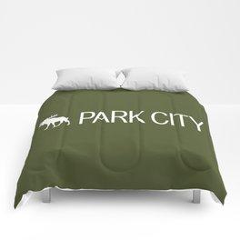 Utah: Park City Moose Comforters
