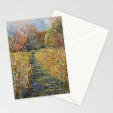 Path in the Meadow Stationery Cards