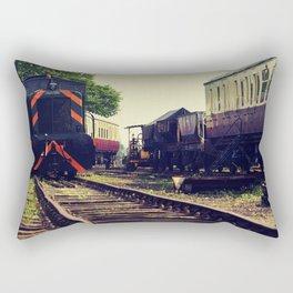 Railways Rectangular Pillow