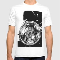 Here's looking at you MEDIUM White Mens Fitted Tee
