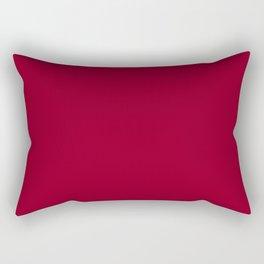 Wine Burgundy Rectangular Pillow