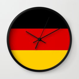 Flag of Germany - Authentic High Quality image Wall Clock