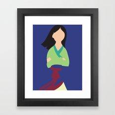 Mulan Framed Art Print