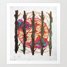 We Are But Your Children, Finding Our Way Around Indecision Art Print