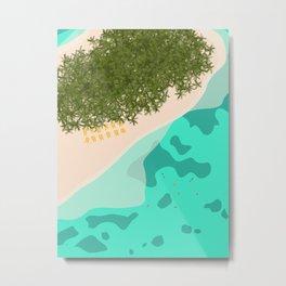 Managaha Island, Saipan, Northern Mariana Islands Metal Print