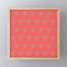 Candy Spins Framed Mini Art Print