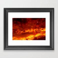 Thunder Walker Framed Art Print