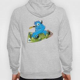 Blue monster dj hip hop Hoody
