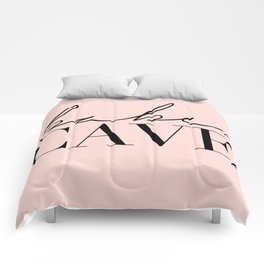 babe cave Comforters