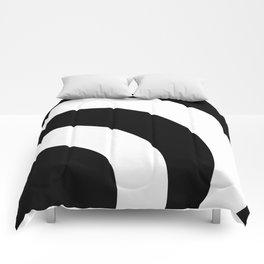 Black & White 360 Comforters