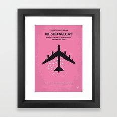 No025 My Dr Strangelove minimal movie poster Framed Art Print