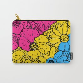 Pansexual Flowers Carry-All Pouch