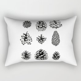 Pinecone study Rectangular Pillow