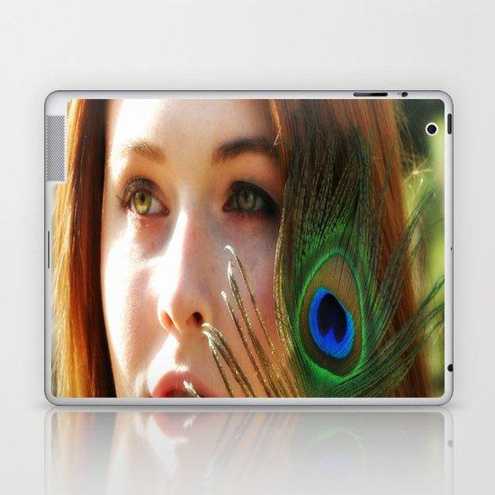 Green Eyes Laptop & iPad Skin