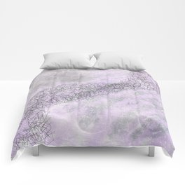 Shades of Pink and Gray Comforters