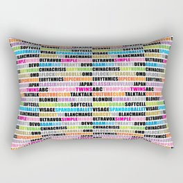 80's band 001 Rectangular Pillow